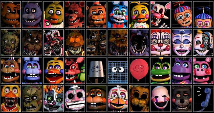 Five Nights at Freddy's Archives ⋆ Stephanie Belinda Quinn